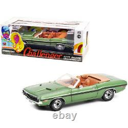 1970 Dodge Challenger R/T Convertible F8 Green Metallic with Black Stripes an