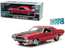 1970 Dodge Challenger R/T Red with Black Stripes Hawaii Five-0 (2010) TV Serie