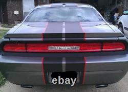 2 color 9 Twin Rally stripes Stripe Graphics Decals FIT All YR Dodge Challenger