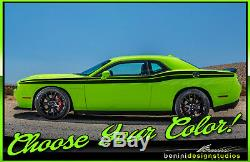 2009 and up Dodge Challenger Side Racing Stripes RT SRT8 Scat Pack Hell Cat #2