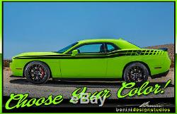 2009 and up Dodge Challenger Side Racing Stripes RT SRT8 Scat Pack Hell Cat #3