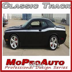 2011-2016 Dodge Challenger Classic Graphics Stripes Side Decals 3M Pro Grade CT3