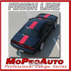 2011 Dodge Challenger / Center WIDE RALLY Racing Stripes Decals 3M Graphics RT5