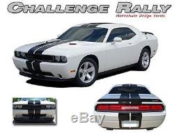 2013 Dodge CHALLENGER RALLY Rear Racing Stripes Decals Professionals Only 12W