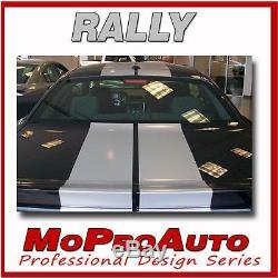 2014 Dodge Challenger Rally Trunk Racing Stripes Decals Professionals Only V44