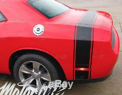 2015 2016 Dodge Challenger Trunk Tail Rear Stripes Racing Rally Decals RT Accent
