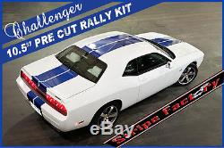 Dodge Challenger Solid Rally Decal Kit 2008 2014 Stripe Factory