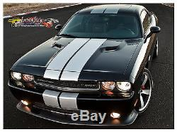 Dodge Challenger Solid Rally Stripe Kit 2008 To 2014 Factory Stripe Decal