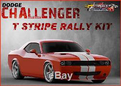 DODGE CHALLENGER T- RALLY FACTORY STRIPE DECAL 2008 TO 2014 3M OR ORACAL