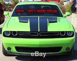 Dodge CHALLENGER Racing Stripes & Side Graphics KIT 2017 2005 DECALS Hood dual