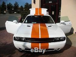 Dodge Challenger 10 Racing Stripes Graphic Decal 40 Feet 2008-2016 3M Any Color