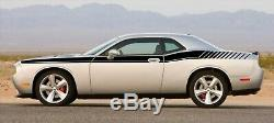 Dodge Challenger 2009 2010 side vinyl Decal RT Stripe Complete Graphic Kit
