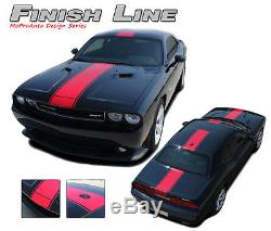 Dodge Challenger 2013 / WIDE Center RALLY Racing Stripes Decals 3M Graphics RT6