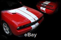 Dodge Challenger Factory Style T-Stripe Rally Kit 3M Quality Stripes 08-14