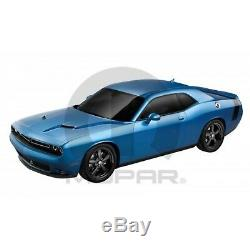 Dodge Challenger Matte Black Bumble Bee Style Tail Stripe 82214481
