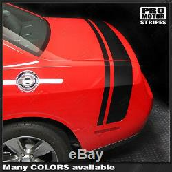 Dodge Challenger Scat Pack Style Rear Stripes Decals 2011 2012 2013 2014