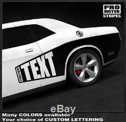 Dodge Challenger Side CUDA Billboard Stripes for 2008-2014 contact us for 2015