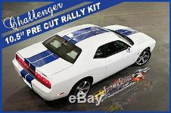 Dodge Challenger Solid Rally Automotive Stripe Kit 3M Factory Stripe 2008/2014