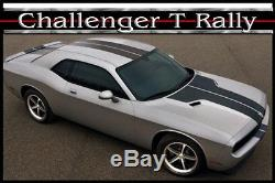 Dodge Challenger Solid T Rally Stripe Kit 2008 2014 3m Automotive Graphic Decal