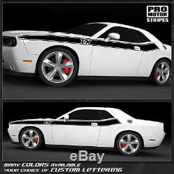 Dodge Challenger T/A Style Side Stripes 2011 2012 2013 2014 2015 2008-2010