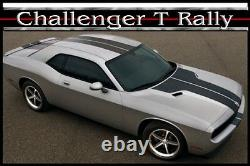 Dodge Challenger T-rally Stripe Factory 3m Graphic Decal 2008 2014