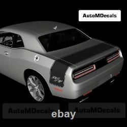 Dodge Challenger Tail Band Rt R/t Vinyl Decals Stickers Stripe Graphics Kit