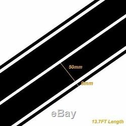 Double Accent Rally Racing Stripes Graphic Sticker For Subaru Hood, Roof, Trunk