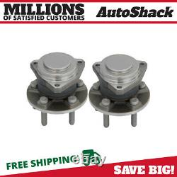 Front Wheel Hub Bearing Assembly Pair 2 for 2012-2019 Dodge Challenger Charger