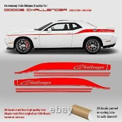 Hennessey Side Stripes Graphic for Dodge Challenger 2008 2018