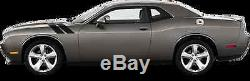 Hood to Fender Hash Vinyl Graphic Decal Stripe for Dodge Challenger 2015 & Up