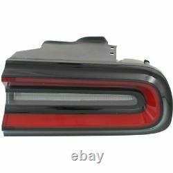 New CH2801207 Passenger Side Outer Tail Light For Dodge Challenger 2015-2019