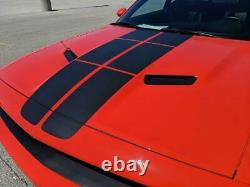 Racing Stripes Fits 08-2020 Dodge Challenger Hood Graphic Pulse Rally Decals