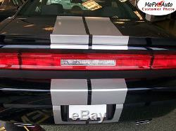 Rally Racing Stripe 10 in Hood 3M Decal Graphic 11 12 2013 2014 Dodge Challenger