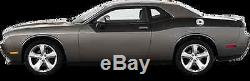 Rear Partial Uppr 2/3 Vinyl Graphic Decal Stripes for Dodge Challenger 2015 & Up