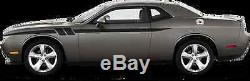 Side Accent Hash Vinyl Graphics Decals Stripes for Dodge Challenger 2008-2014