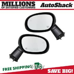 Side View Mirror Power Heated Paint to Match Pair 2 for Dodge Challenger 6.4L V8