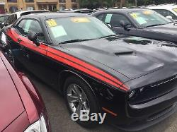 Side stripe Decal Graphic racing stripe for 2019 Dodge Challenger