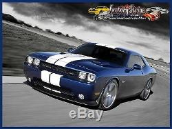 Solid Rally PRE CUT Decal Stripe Kit 2008/2014 Dodge Challenger 3M graphic